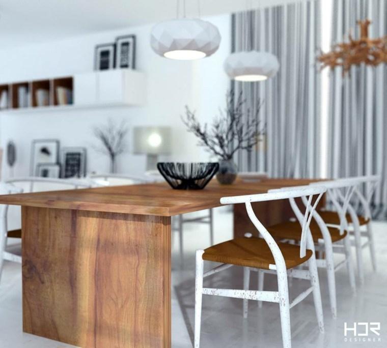diseño mesa comedor HDR Designer