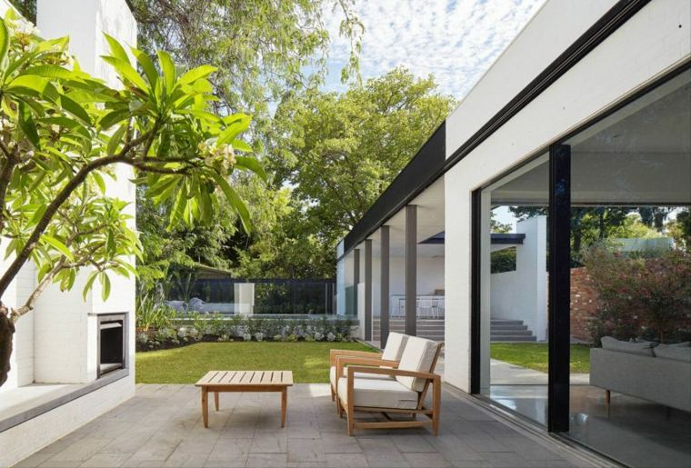 diseno jardin moderno David Barr Architect ideas
