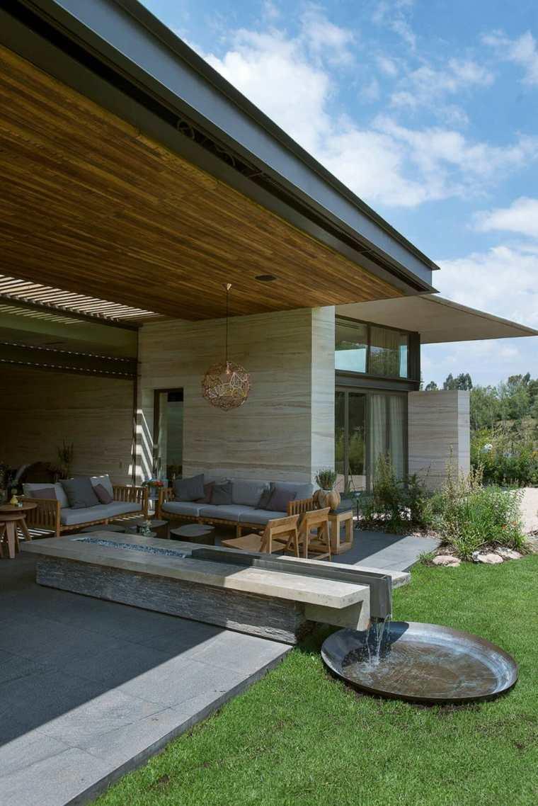 diseno jardin moderno Vieyra Arquitectos ideas