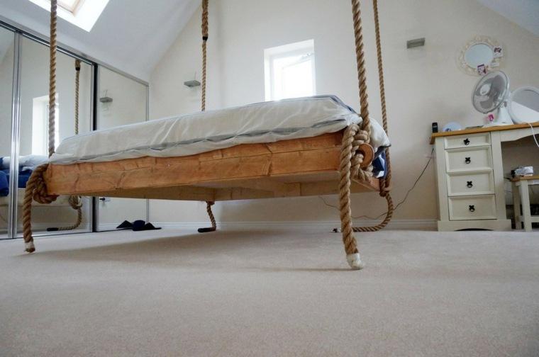 diseno original cama colgante