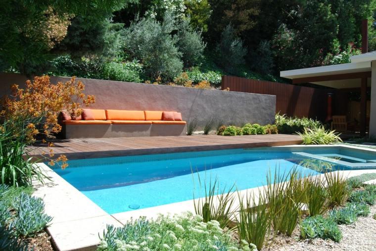 diseno patio estilo moderno xeriscape