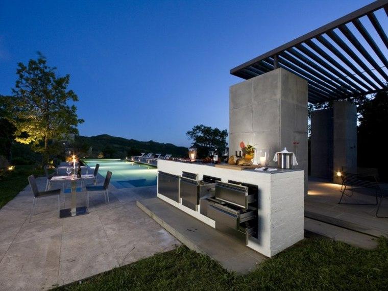 diseno terraza pisciona barra bar