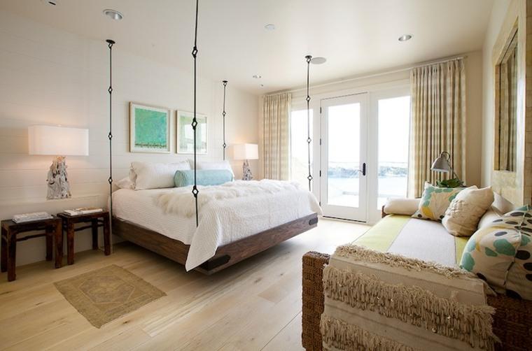 diseño cama colgante grande