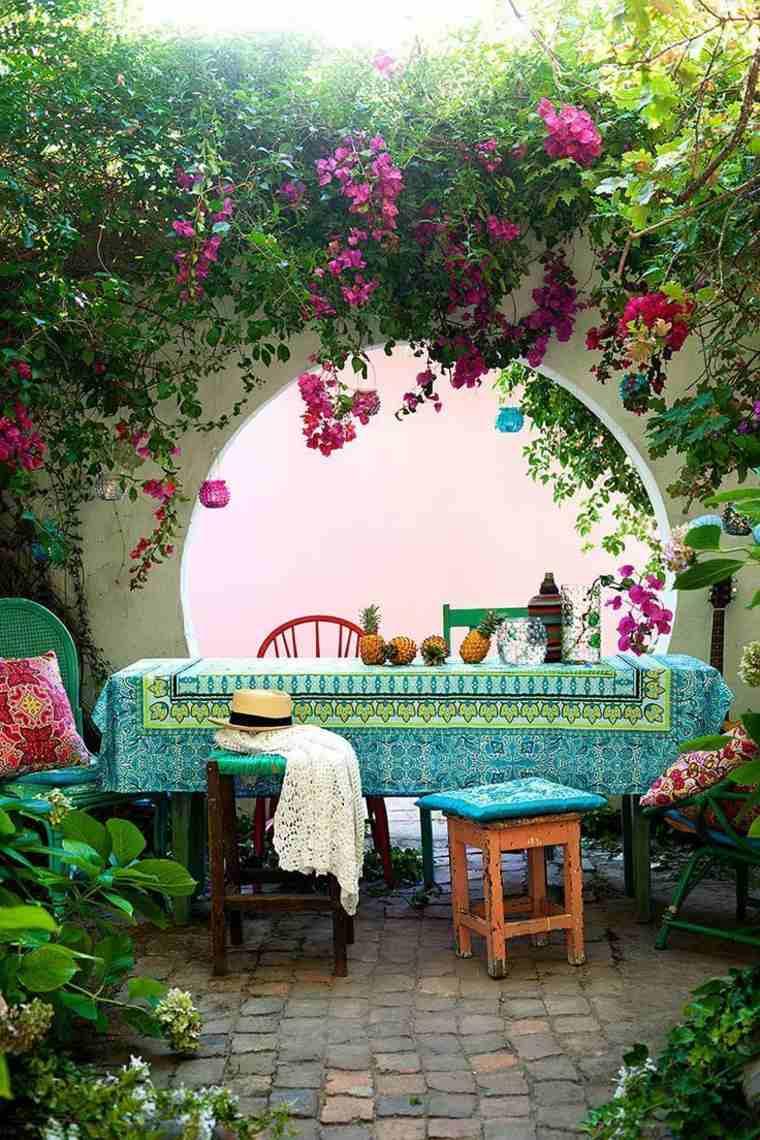 disenos jardines modernos comedor precioso ideas