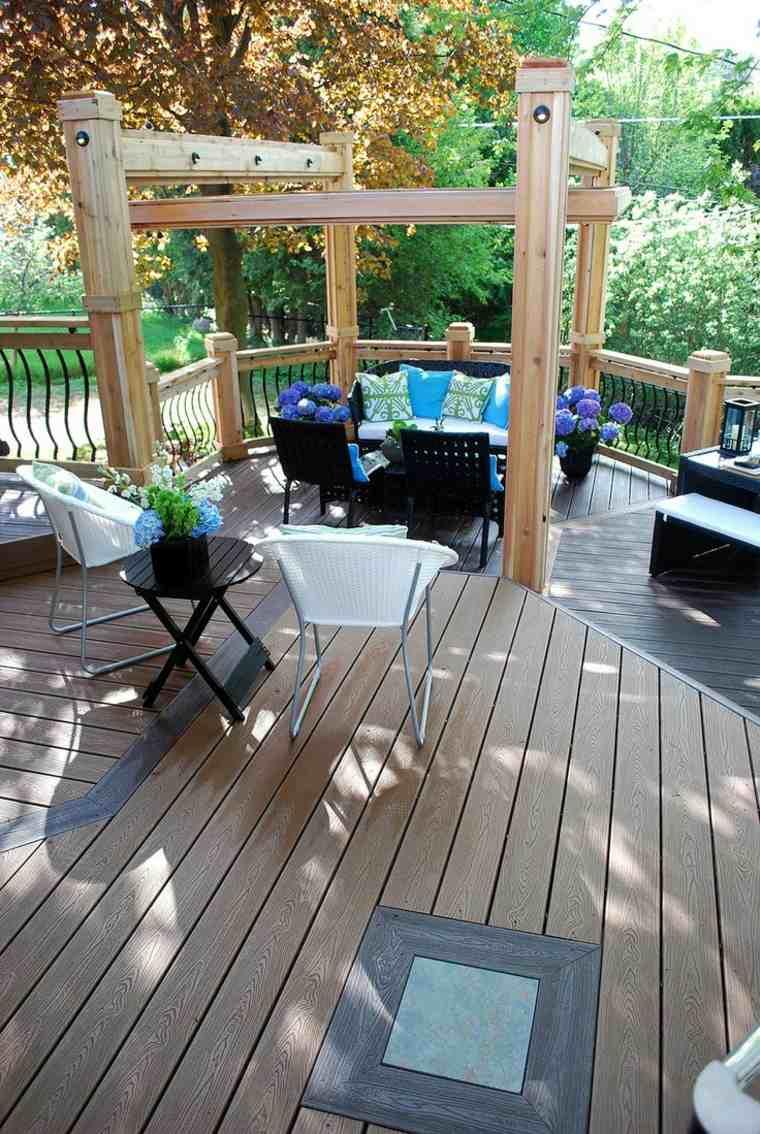 disenos jardines modernos espacios aire libre descanso ideas