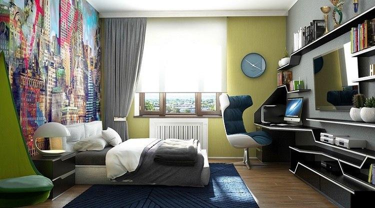 dormitorio adolescente lugar estudio opciones diseno ideas