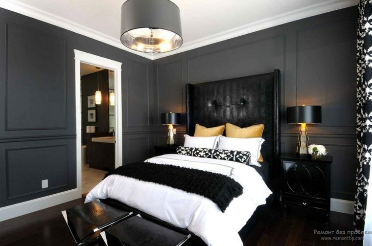 dormitorios modernos combinación colores