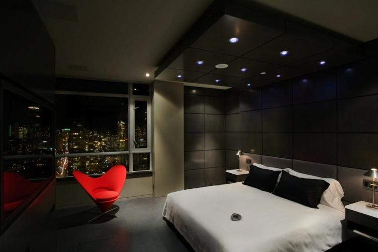 dormitorios modernos matrimonio colores efecto