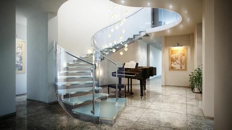 Escaleras interiores inspiradas en la modernidad - Escaleras de interior ...