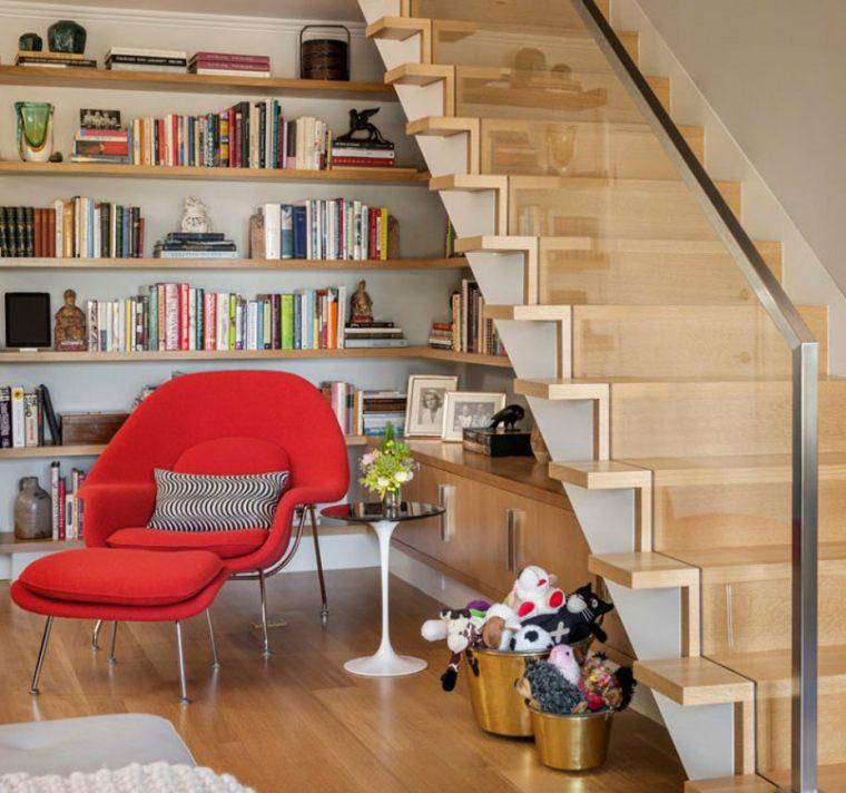 escaleras bonitas sillón plegable