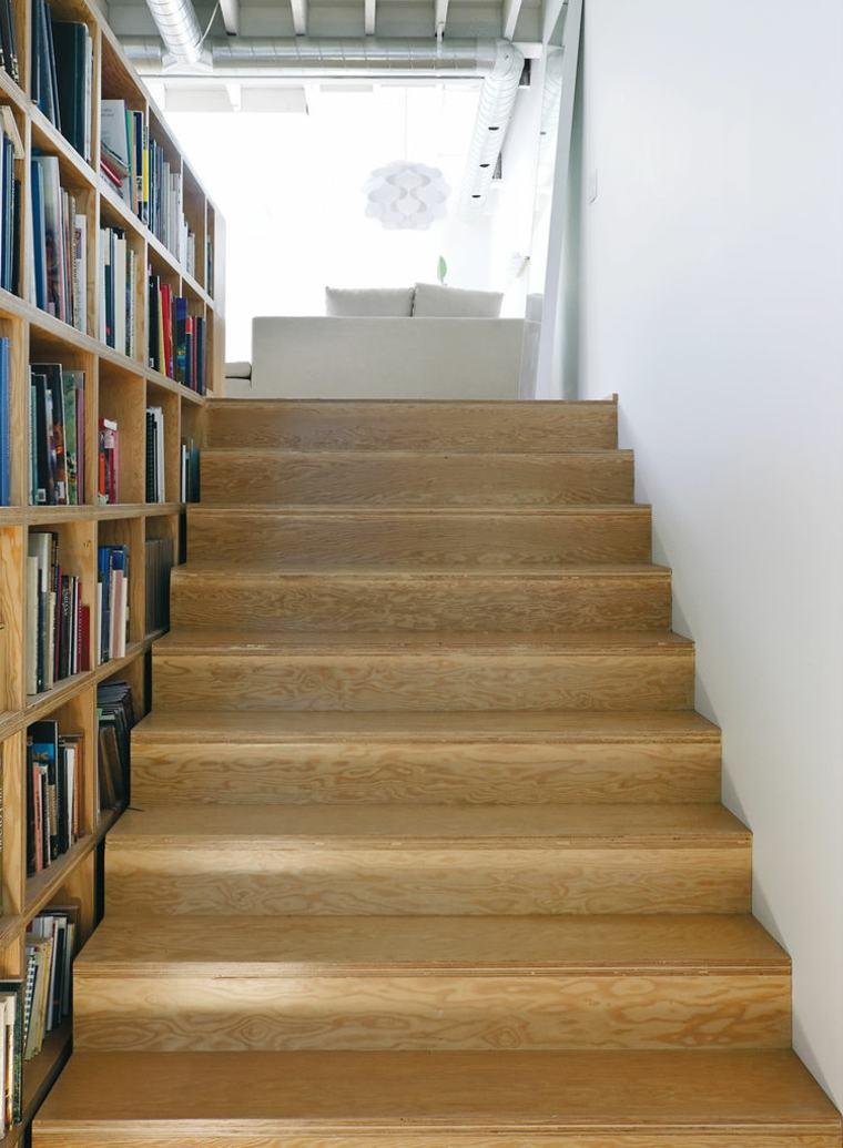 Escaleras biblioteca el dise o inteligente - Escaleras espacios pequenos ...