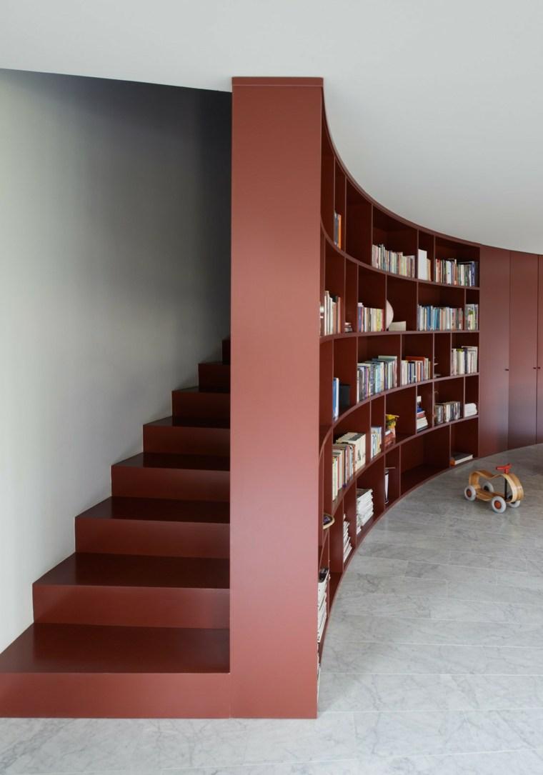 tipo escaleras casas forma circular