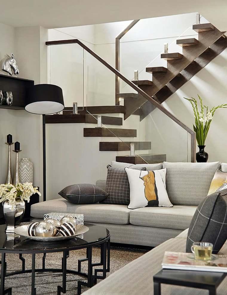 escaleras interiores inspiradas en la modernidad. Black Bedroom Furniture Sets. Home Design Ideas