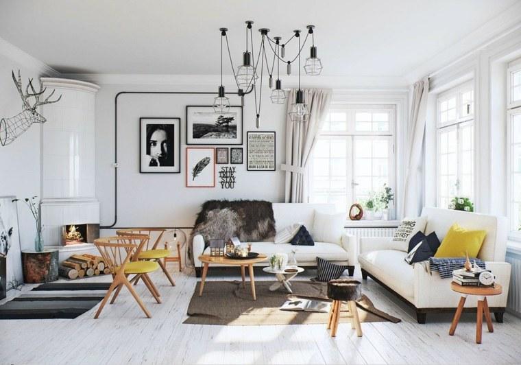 escandinavo estilo decoracion pieles suelos