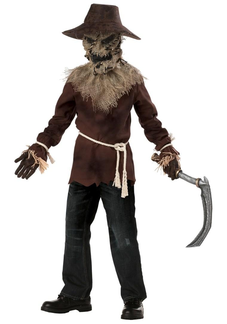 espantapajaros asesino disfraz halloween