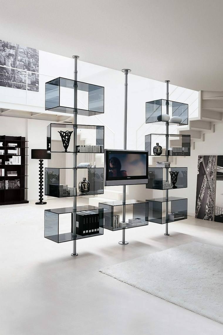 Muebles para tv con dise o moderno a la ltima - Estanterias diseno pared ...