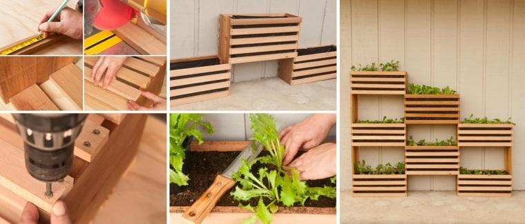 estructuras para jardines verticales caseras