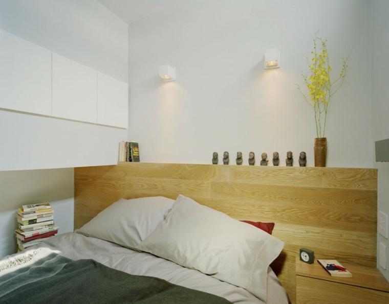 estudio pequeno funciona elegante Manhattan cama ideas