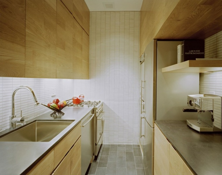 estudio-pequeno-funciona-elegante-Manhattan-cocina-pequena