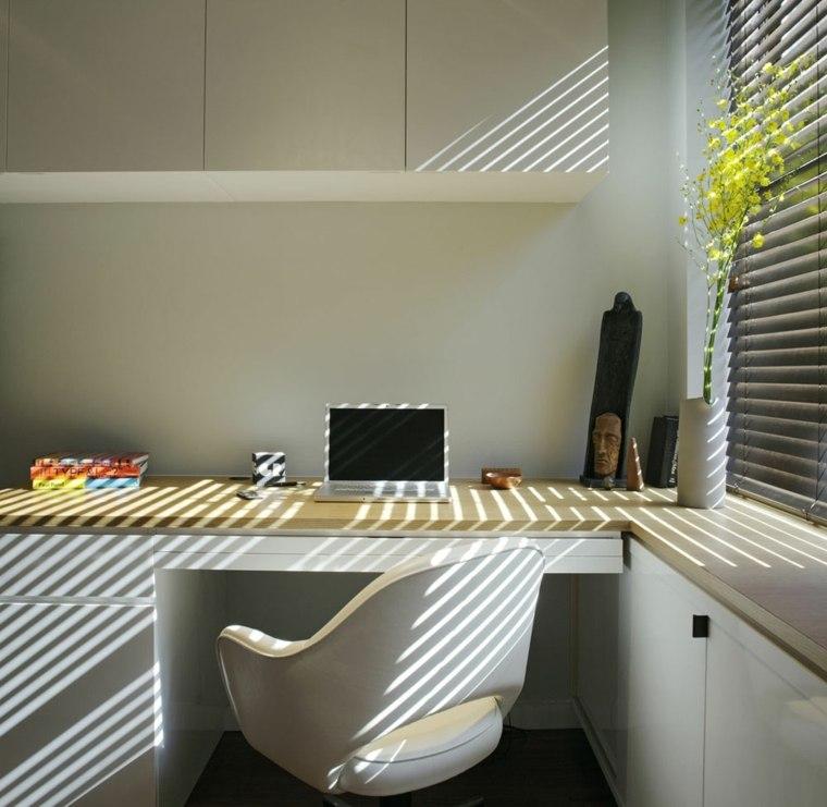 pequeno funcional elegante Manhattan oficina ideas