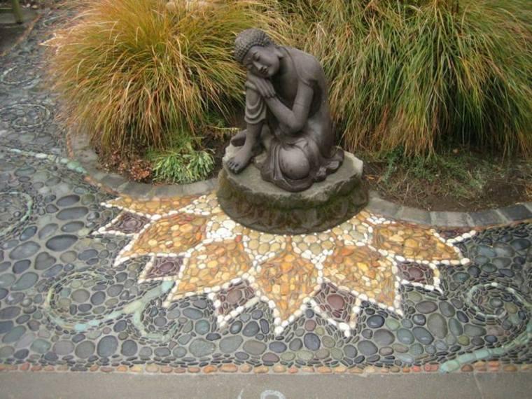 estupenda decoración de jardín
