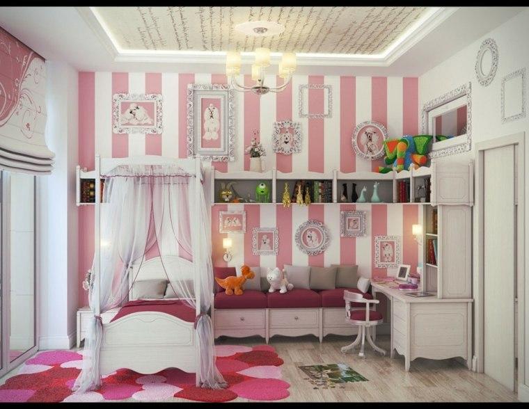 estupenda decoración cuarto infantil