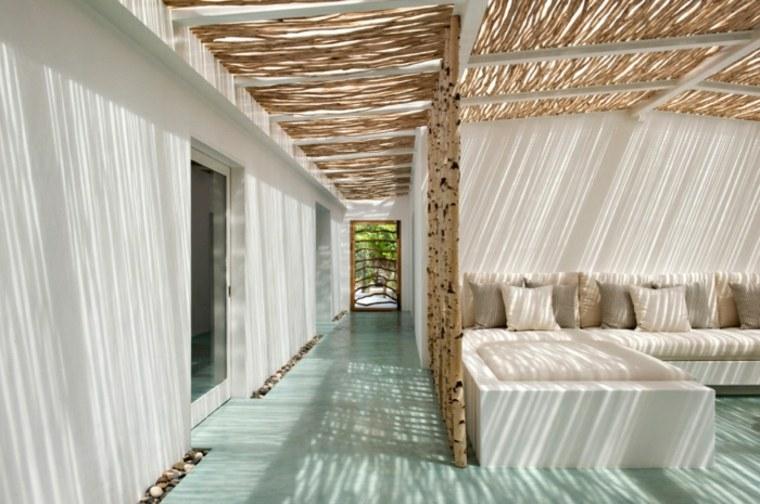 El verano en tu hogar 24 ideas creativas para decorar - Decoracion espacios abiertos ...