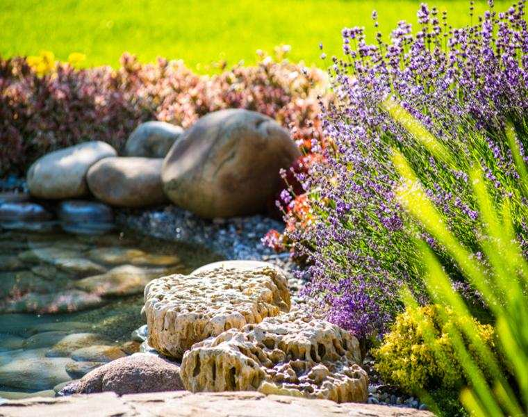 jardin con aromas de primavera pictures to pin on decoracion de jardin ...