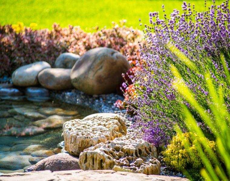 estupenda imagen decoración jardin