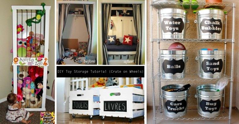 estupendas ideas para almacenar objetos