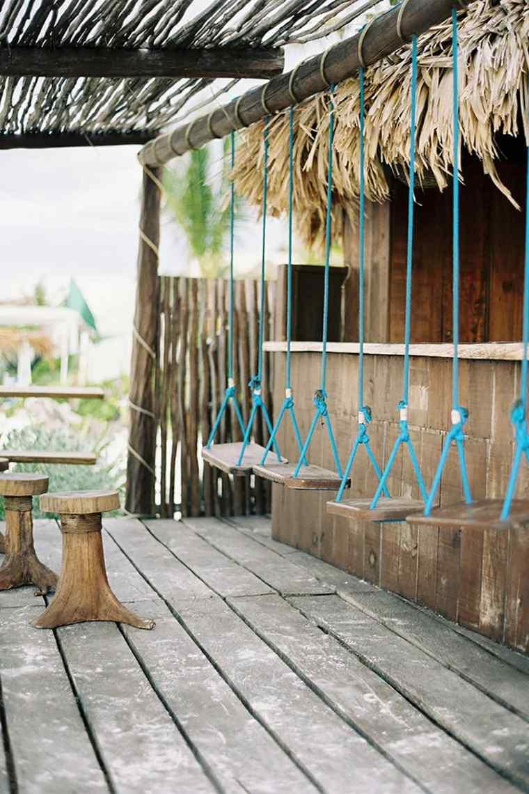 Bares y cocinas en el jard n 24 ideas para inspirarte for Disenos de bares rusticos