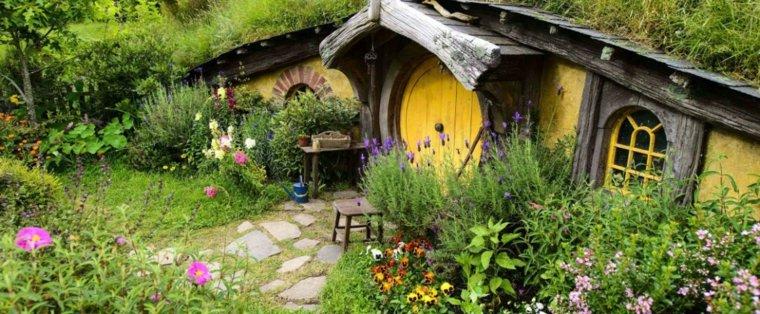 felices vacaciones casa hobbit