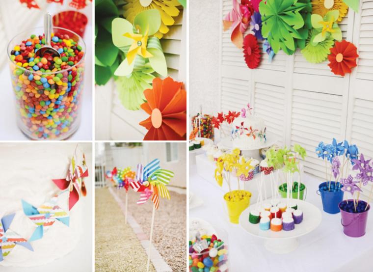 fiesta facil decoracion opciones coloridas jardin verano ideas