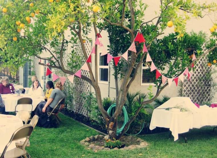 fiesta facil decoracion opciones decoracion plantas jardin ideas