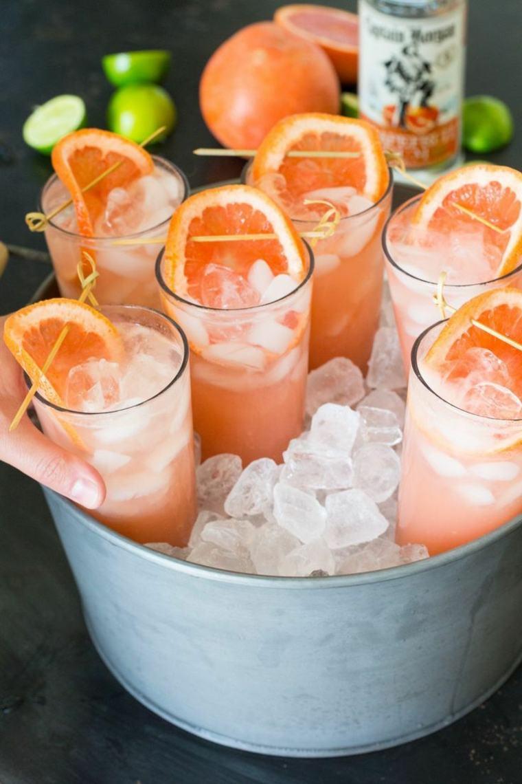 fiesta facil decoracion opciones tener bebidas frescas ideas