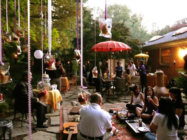 fiesta jardin opciones decoracion verano invitados ideas