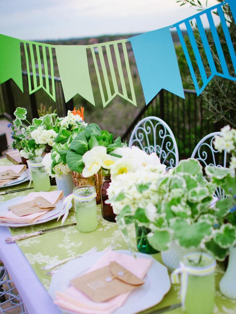 fiesta jardin opciones decoracion verano original ideas