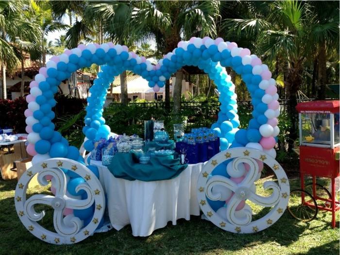 Fiestas infantiles ideas para disfrutarlas al aire libre - Decoracion para fiestas de cumpleanos infantiles ...
