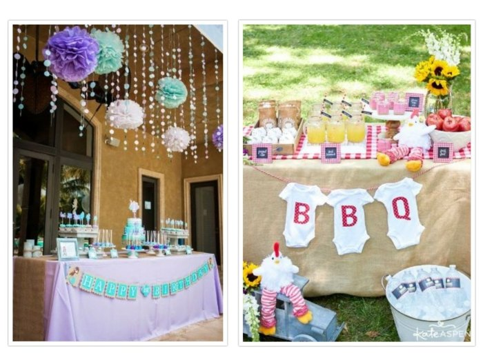 fiestas infantiles ideas coloridas cortinas