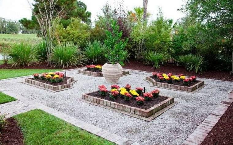 fronteras delimiten jardineras originales jardin moderno ideas