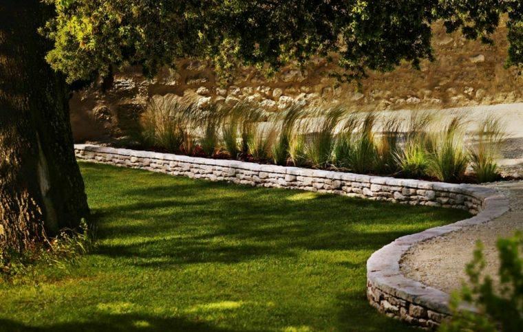 frontereas jardin dividen ceped plantas ideas originales