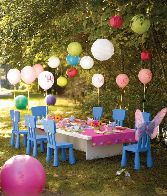globos coloridos ambientes suelos manteles