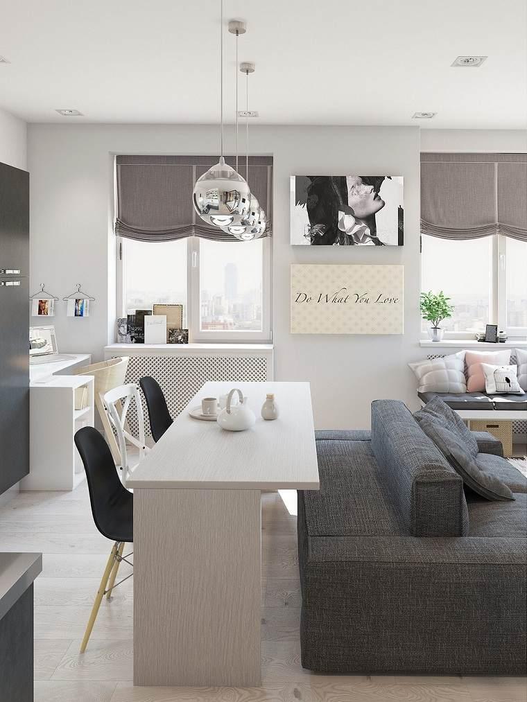 grises amplias eformas elegantes sofa