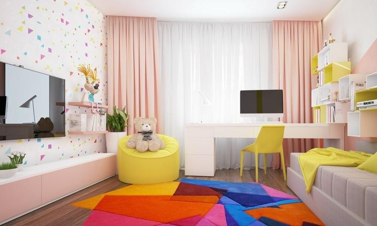 habitaciones infantiles originales ninos colores efectos