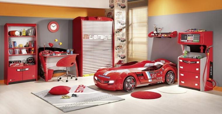 habitaciones niños coche cama