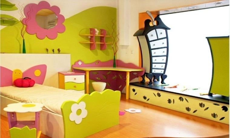 habitaciones originales decoración colores