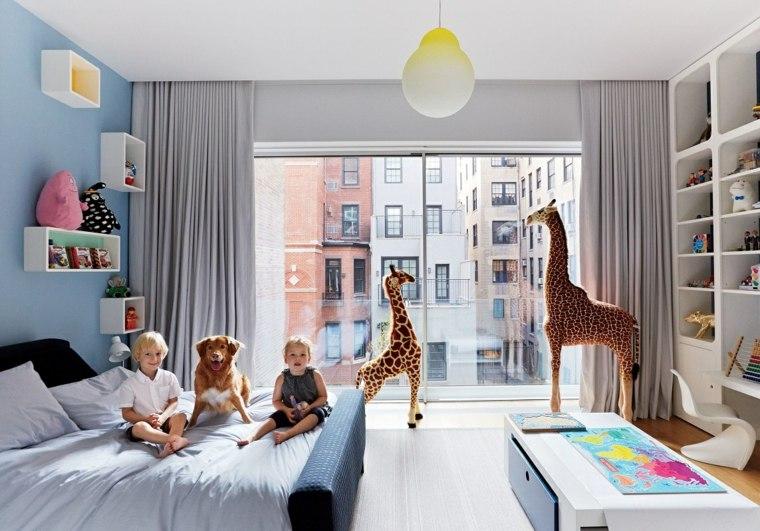 Habitaciones para ni os con dise os espectaculares - Dormitorios con literas para ninos ...