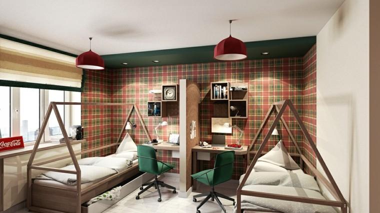 Habitaciones para ni os con dise os espectaculares - Disenos de camas para ninos ...