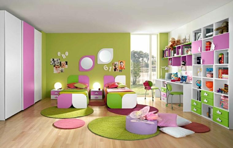 habitaciones para ninos diseno colorido alegre ideas