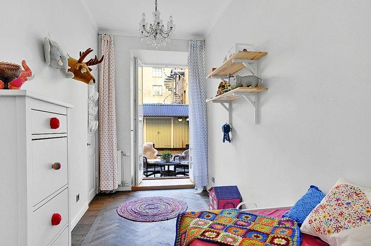 habitaciones ninos diseno espacios estrechos ideas